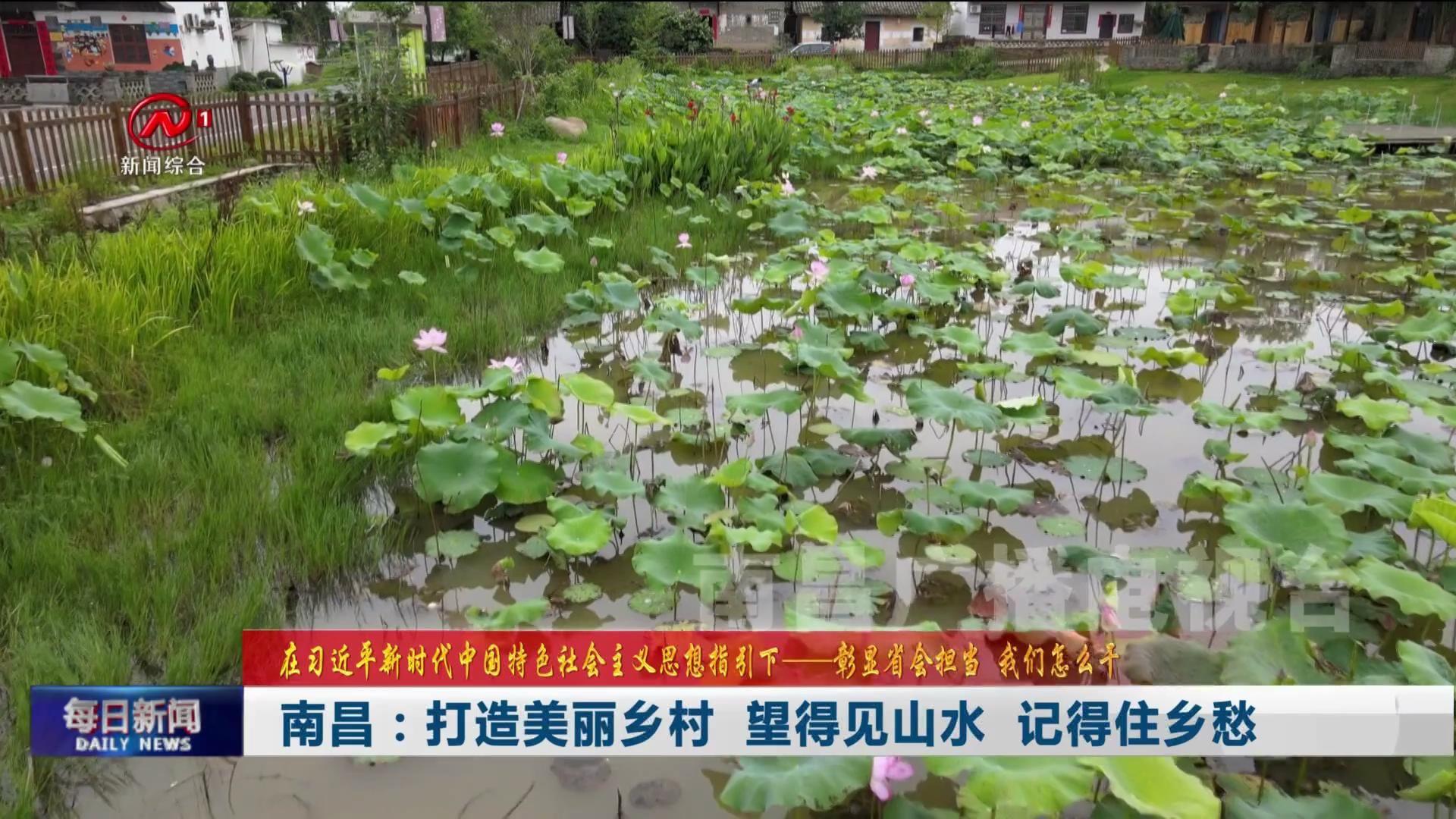 南昌:打造美丽乡村  望得见山水  记得住乡愁