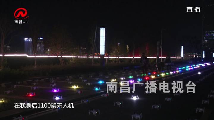 """鄱阳湖观鸟周:""""白鹤展翅"""" 点亮南昌夜空"""