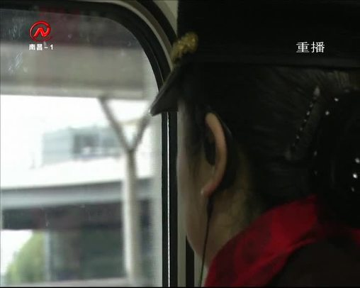 """南昌西站的""""鐵路夫妻"""""""