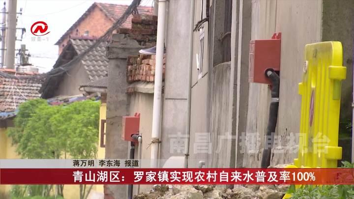 青山湖區:羅家鎮實現農村自來水普及率100%