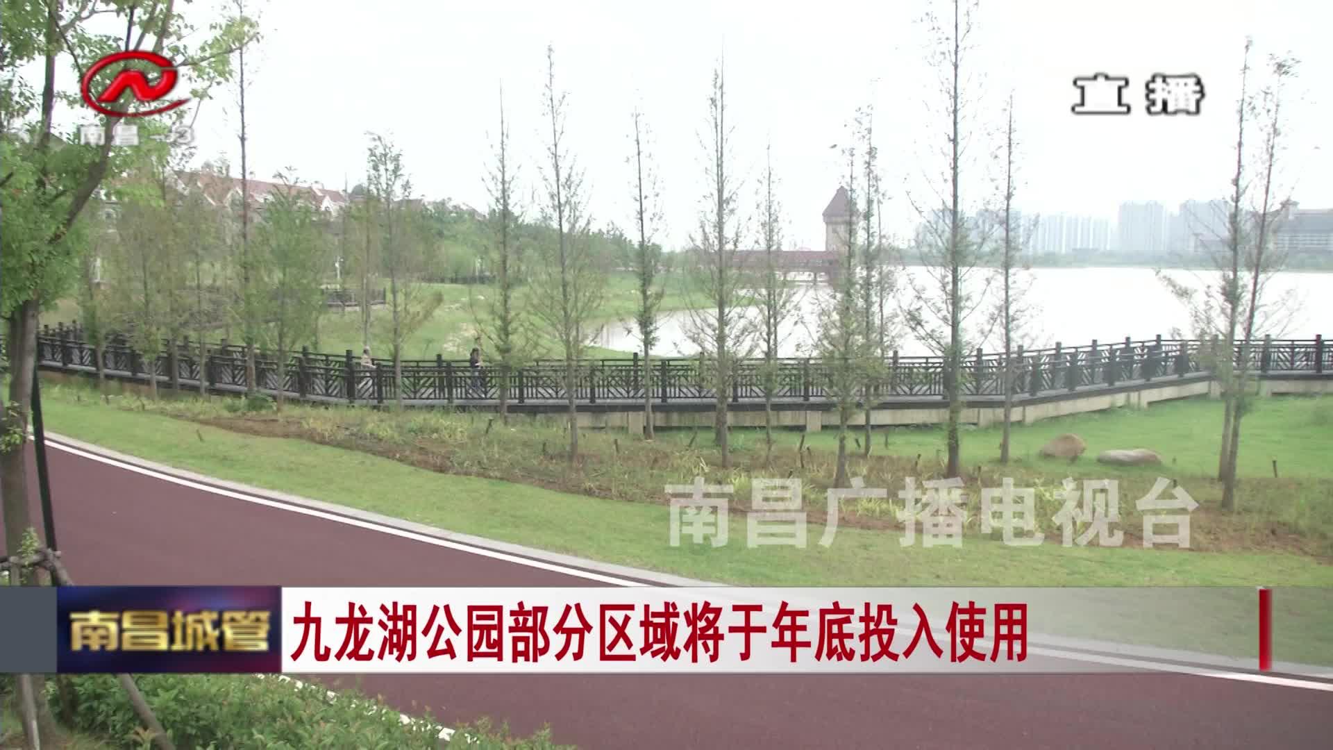 【城管新闻】九龙湖公园部分区域将于年底投入使用