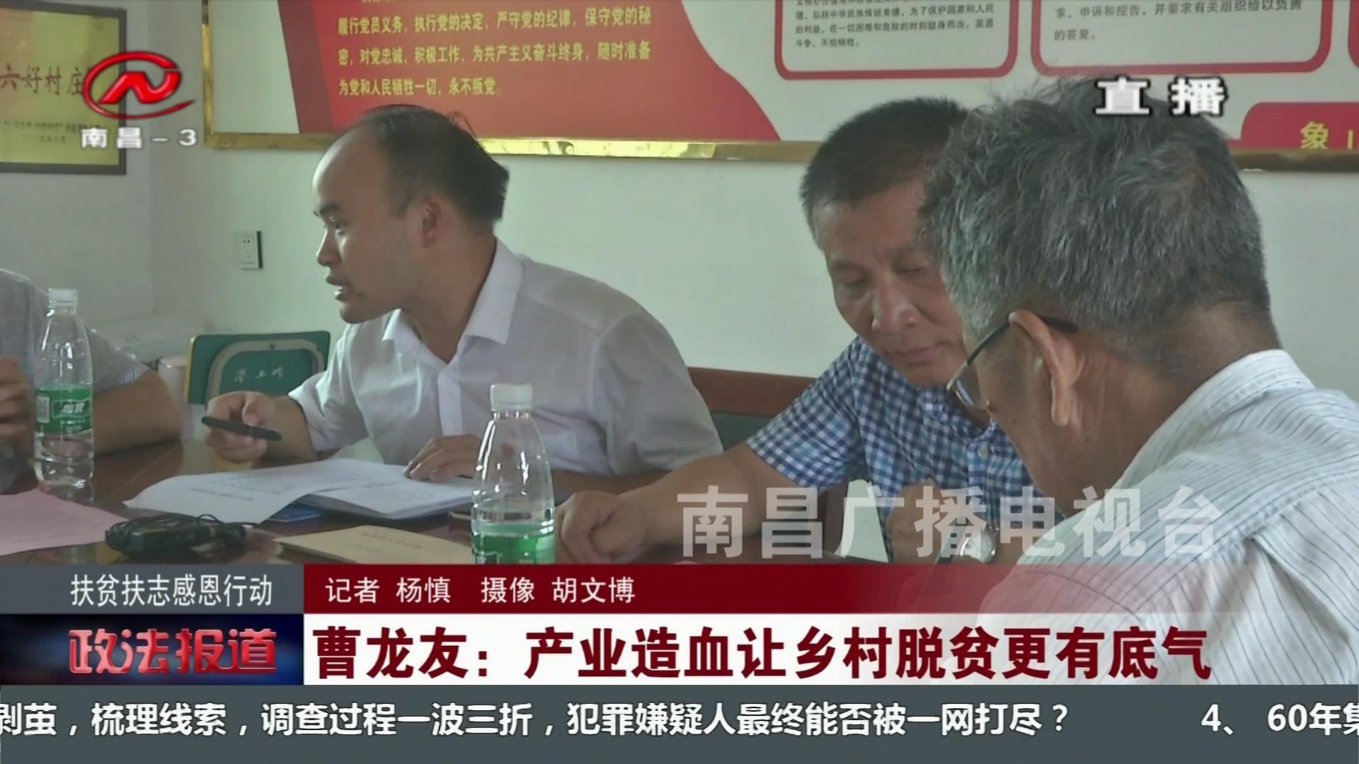 曹龙友:产业造血让乡村脱贫更有底气