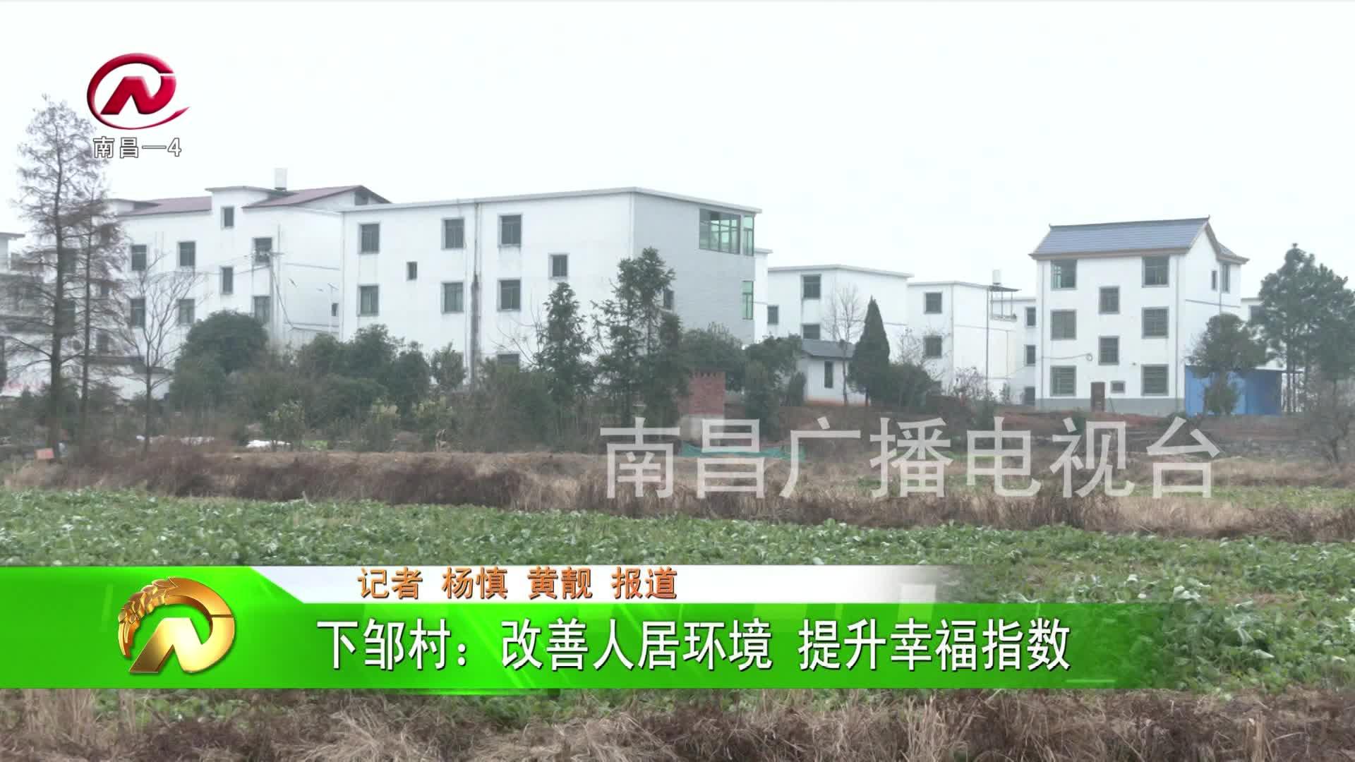 【豫章農視】下鄒村:改善人居環境 提升幸福指數