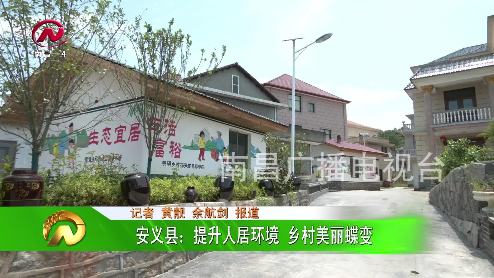 【豫章农视】安义县:提升人居环境 乡村美丽蝶变