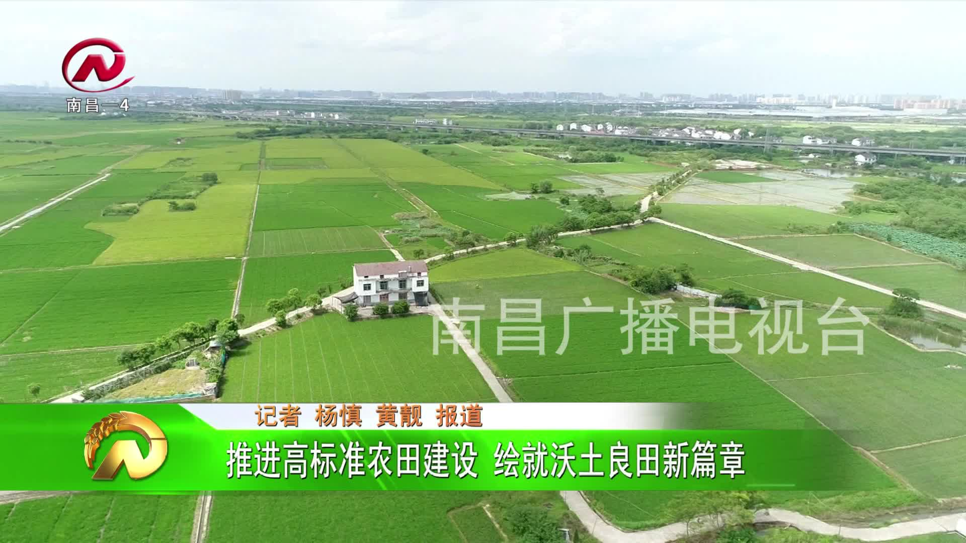 【豫章农视】推进高标准农田建设 绘就沃土良田新篇章