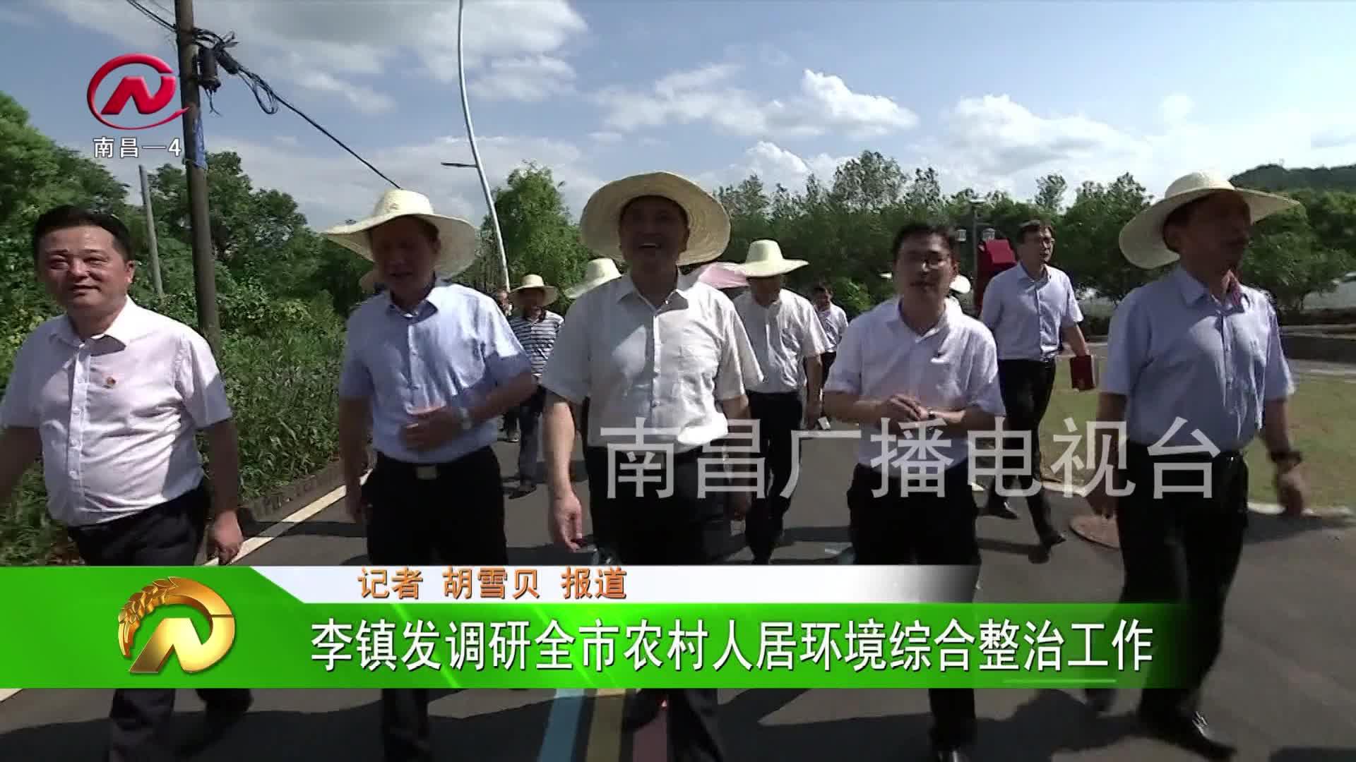 【豫章农视】李镇发调研全市农村人居环境综合整治工作